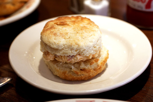 biscuit w/ pimento cheese @ bob white