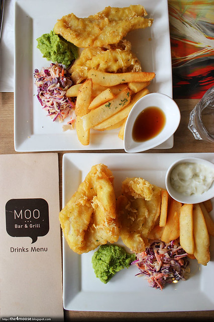 Moo Bar & Grill - Fremantle Fish and Chips