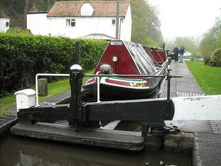 Swift in lock | by Heritage Working Boats Group