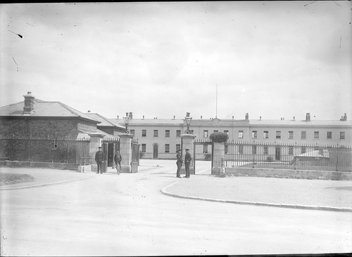 Military Barracks at 11.07 a.m., but where? Garda Headquarters in the Phoenix Park, that's where!