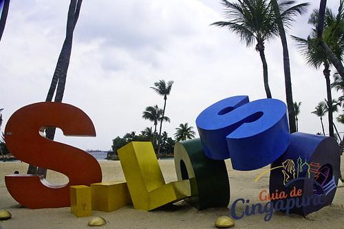Siloso Beach, Singapore