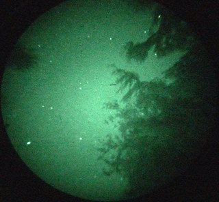 First shot from night vision