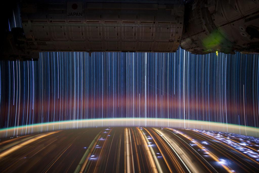 """[ISS] """"ISS star trails"""" 7197237418_755f756ef7_b"""