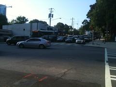 Atlanta: Traffic on Peachtree St