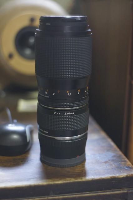 NEX-3 CONTAX Sonnar 135mm F2.8 + Mutar 1