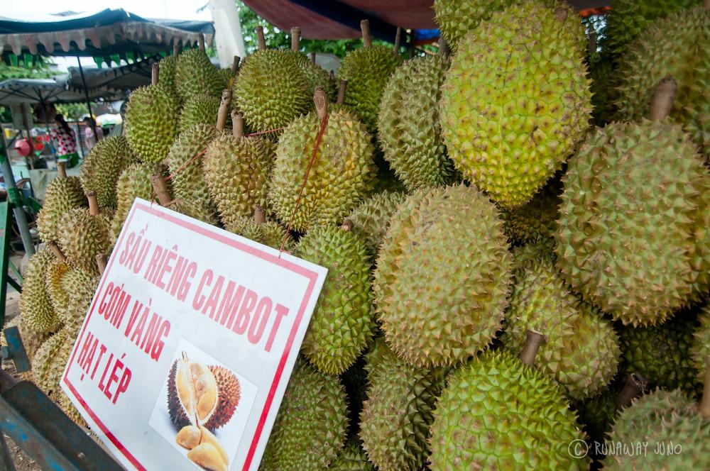 Durian season has arrived