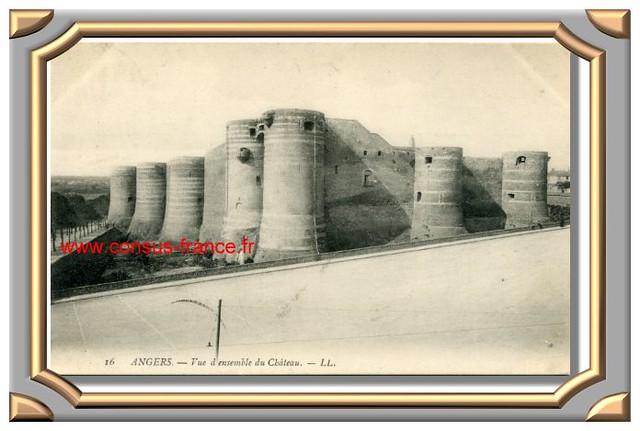 ANGERS - Le Château -70-150