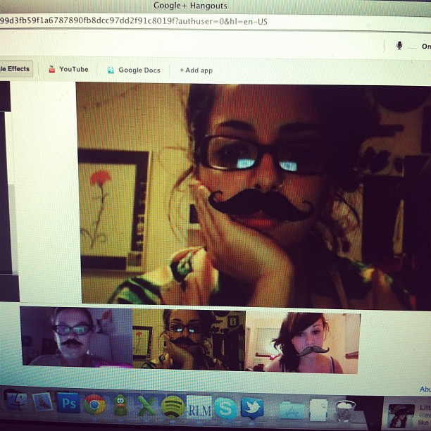 Mustache Chat