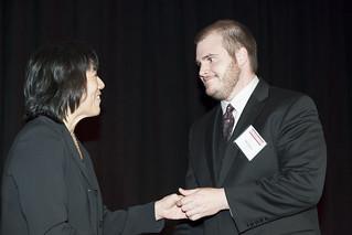 Zach Friedman honored as a Pace Setter