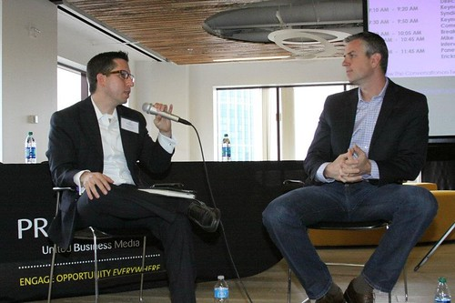 Michael Pranikoff interviews Mike Parker of McCann Erickson at the Content Marketing and Leadership Forum PRNBDI 5-16-12