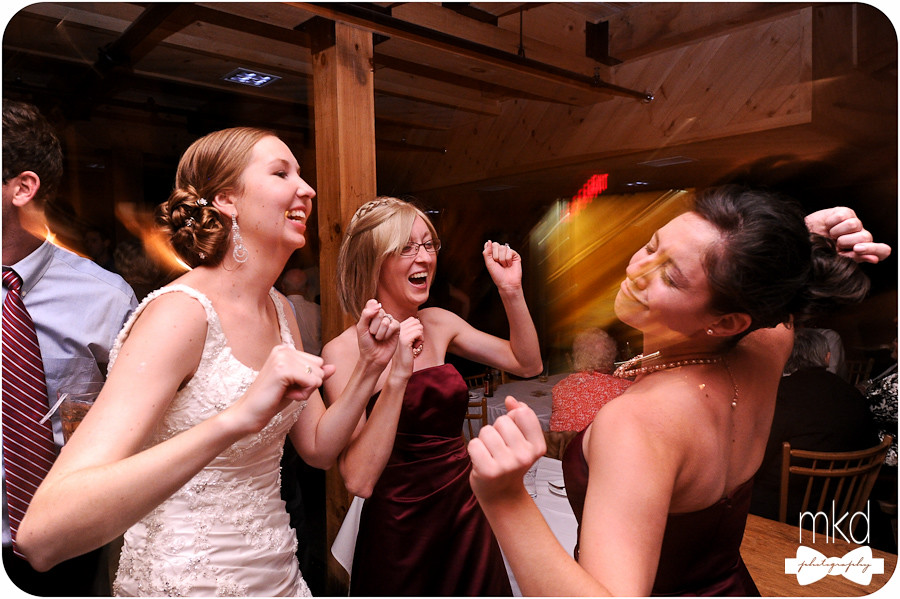Reception Dancing at Saddleback Mountain Lodge - Rangeley, ME