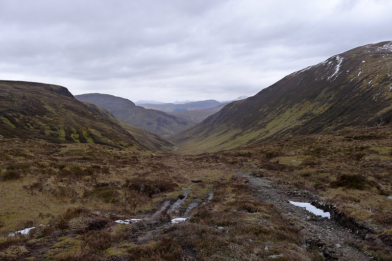 The head of Coire Mhoraigein