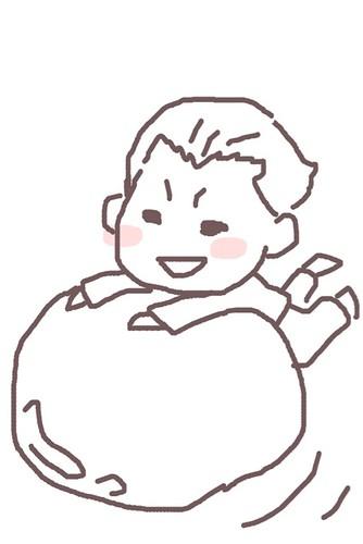 120526(2) - 聲優「恒松あゆみ」心血來潮畫出《Fate/Zero》所有角色的塗鴉、只有「久宇舞弥」發揮100%實力(笑) (10/18)