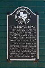 Photo of Clyde Warwick black plaque