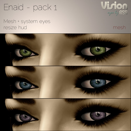 Enaid - Vision by A:S:S - Mesh eyes for Lazy Sunday by Photos Nikolaidis