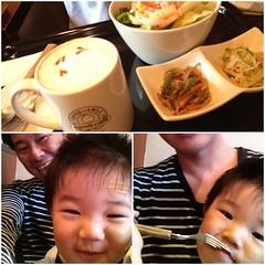 アグーズカフェにて(2012/5/26)