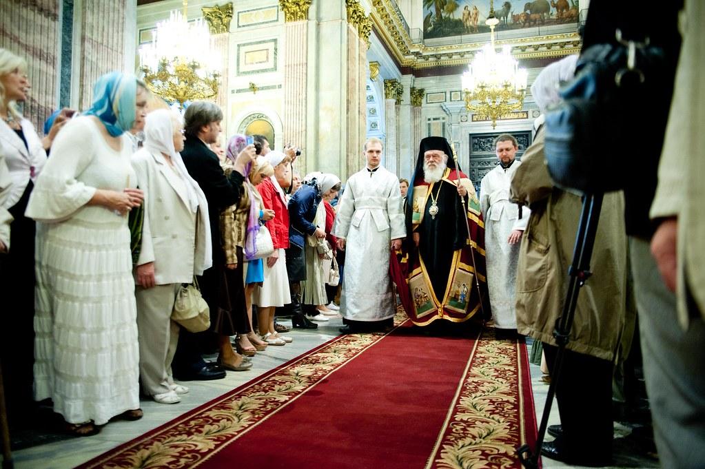 Встреча архиепископа Афинского и всей Эллады Иеронима