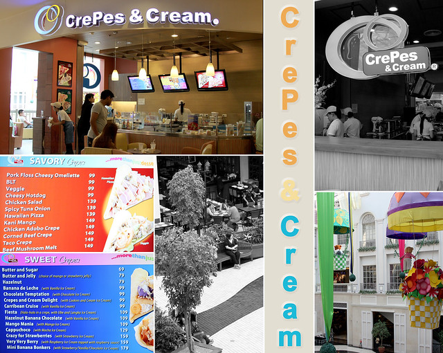 Crepes and Cream interiors