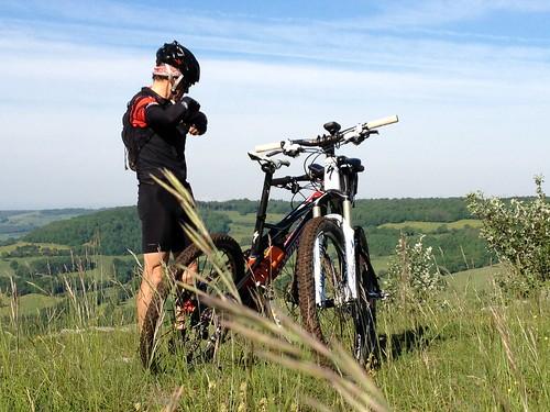 Rando VTT en Bourgogne : L'Epleumienne
