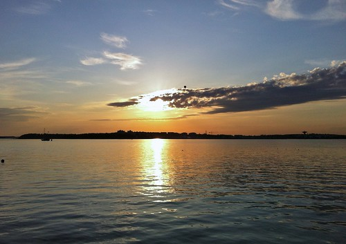 Lauttasaari - Sunset