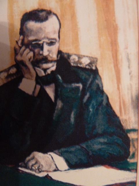 Александр Александрович Мусин-Пушкин минский губернатор, художник В.Н Курбаков 2001