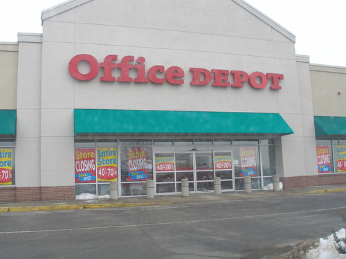 Office Depot closing