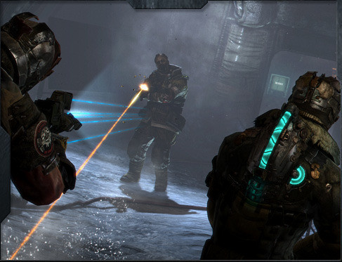 Leaked Dead Space 3 Screens Shows Carver & Clarke Together