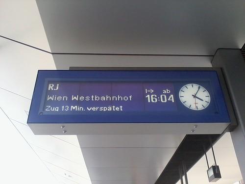ÖBB - Die pünklichste Bahn in der EU by Dick McJohnnson