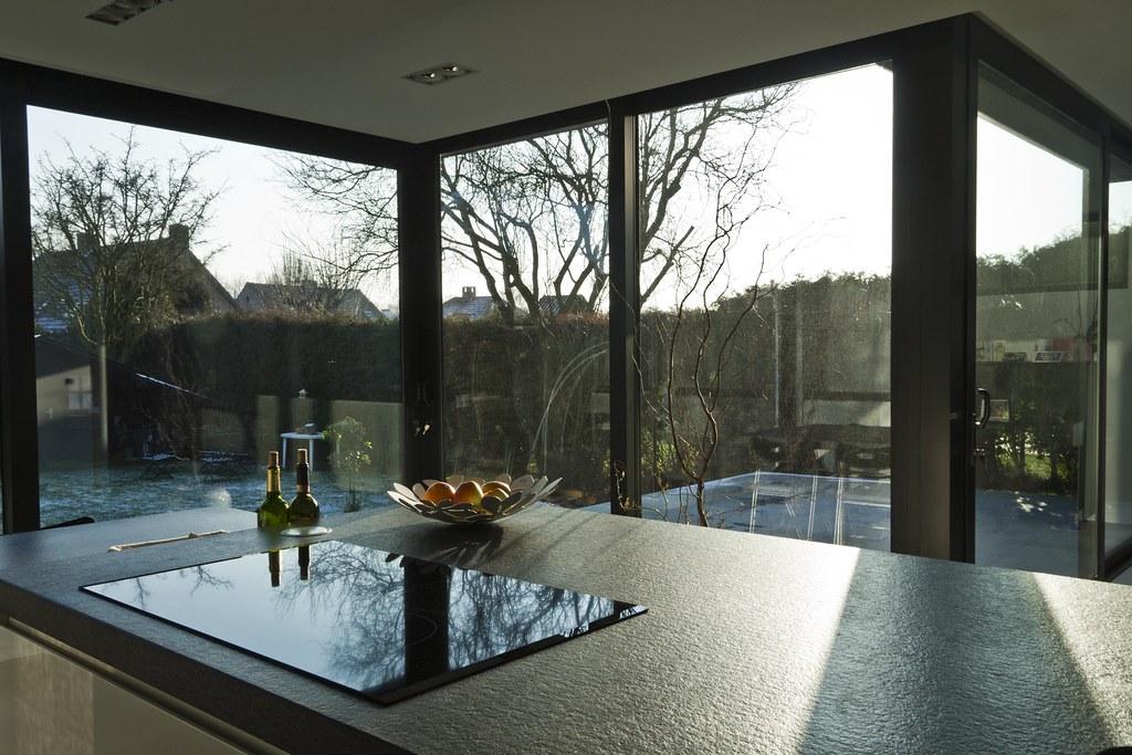 Doors Uitbouw Keuken : Aluminium woonveranda modern uitbouw keuken woonveranda flickr
