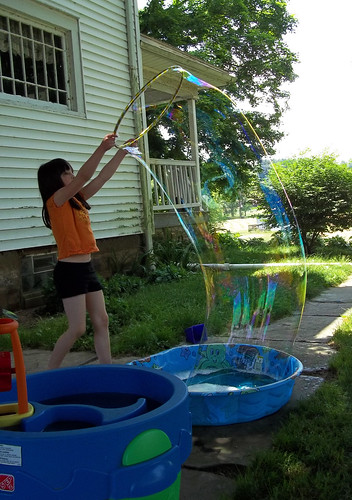 Hoop bubble