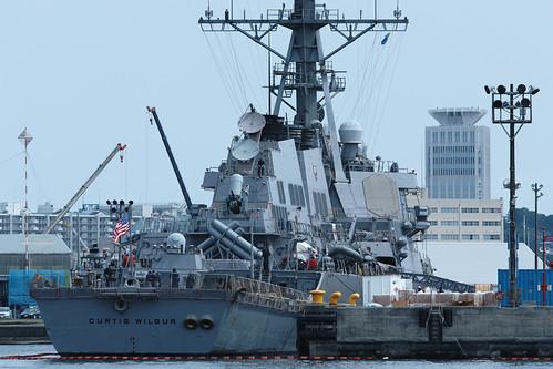U.S.NAVY Aegis destroyer by leicadaisuki