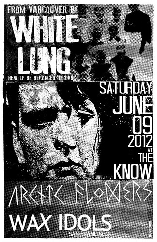 6/9/12 WhiteLung/ArcticFlowers/WaxIdols