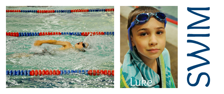 Luke Swim Collage