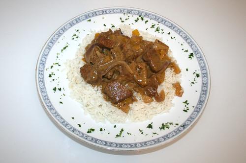 26 - Lamm Tandoori / Lamb tandoori - Serviert