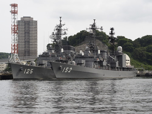 JMSDF 125 SAWAYUUKI&152 YAMAGIRI by leicadaisuki