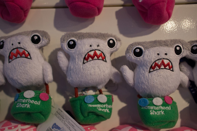 Hammerhead Plush Magnets