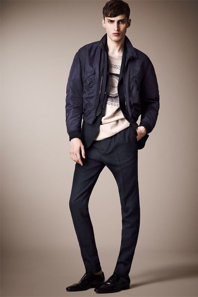 Charlie France0275_Burberry Prorsum's Pre-​​Spring 2013 Collection(Homme Model)