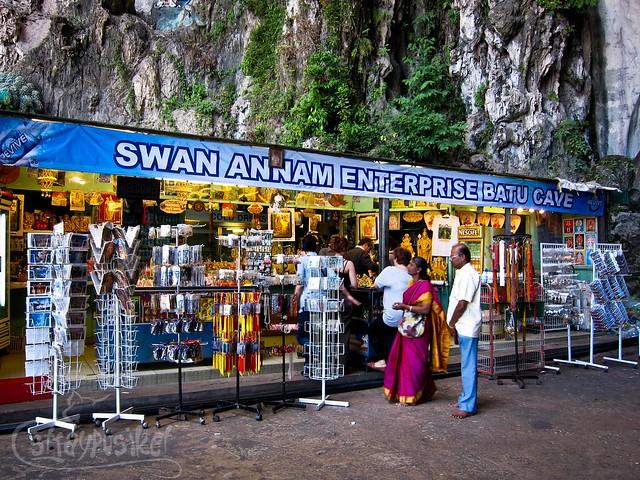 Souvenir Store at Batu Caves