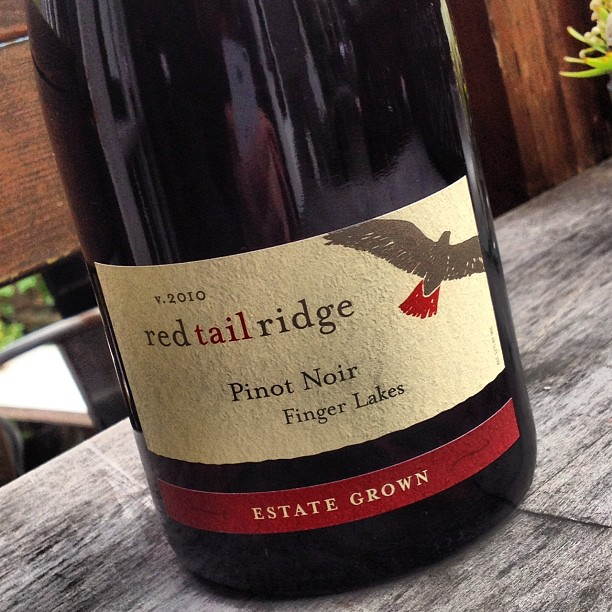 Finger Lakes Pinot Noir Red Tail Ridge