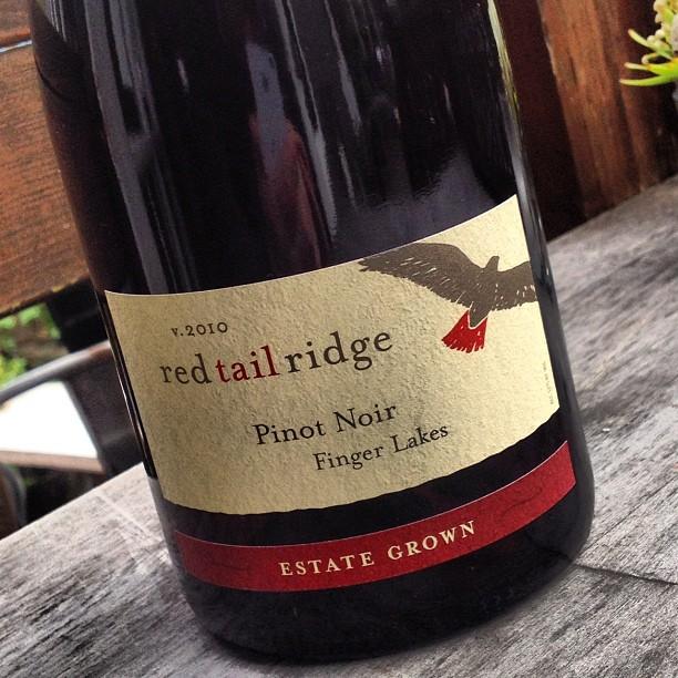 Finger Lakes Pinot Noir Red Tail Ridge