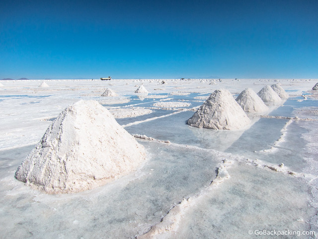 Salt, and lots of it