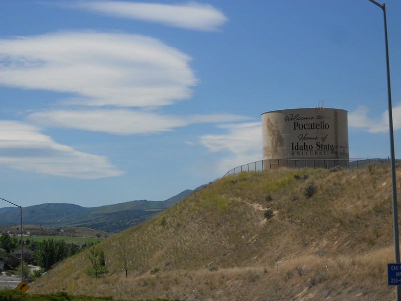 TLR tour, USA Day 15, Pocatello to Malad City