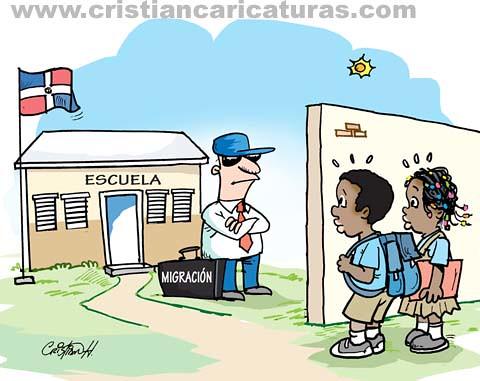 Caricatura extranjeros