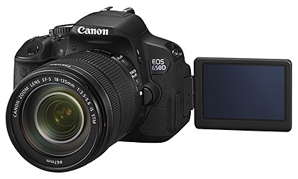 Canon EOS 650D Kit 1 (with EF-S18-55mm f/3.5-5.6 IS II lens).