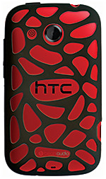 The HTC Desire C is available in Flamenco Red, Polar White and Stealth Black.