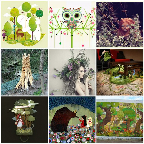 Friday Funspiration: Foresty