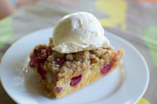 Rhubarb Snacking Cake (Smitten Kitchen)