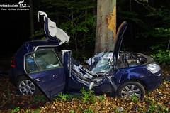 Schwerer Verkehrsunfall Lahnstraße 16.06.12