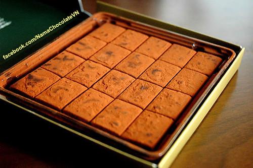 Nama chocolate mon qua ngot ngao va dang cap nhat ngay 2010