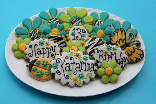 Katarina's Birthday Cookies